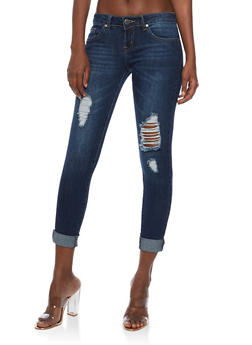 VIP Ripped Skinny Jeans - 3074065301951