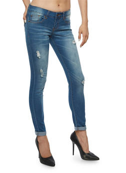 VIP Destroyed Push Up Jeans - 3074065302745