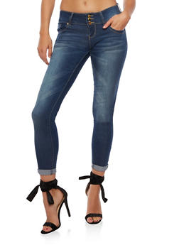 VIP Whisker Wash Push Up Jeans - 3074065302822