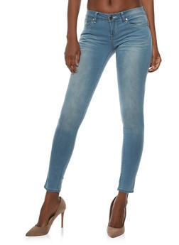 VIP Whisker Wash Skinny Jeans - 3074065308391