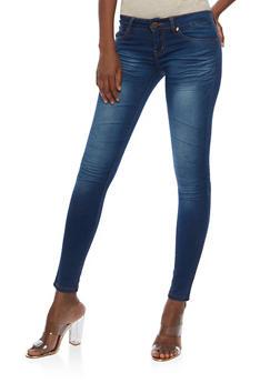 VIP Whisker Wash Skinny Jeans - 3074065308399