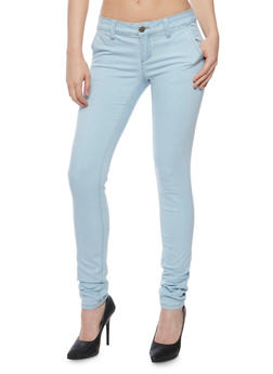 VIP Solid Skinny Jeans - 3074065308449