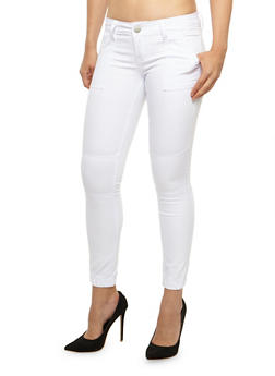 VIP White Skinny Pants - 3074065309532