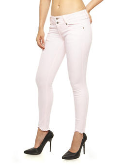 VIP 2 Button Skinny Jeans - 3074065309559