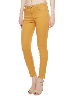 Colored Stretch Twill Pants - 3074069390922