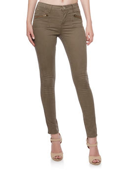 Highway Jeans Twill Skinny Pants - 3074071310711