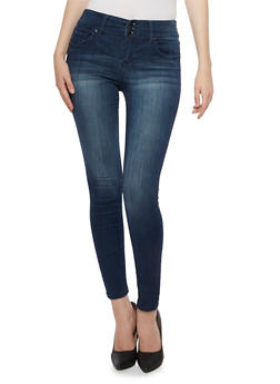Highway Jeans High Waisted Five Pocket Skinny Jeans - 3074071310916