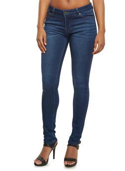 WAX Classic Skinny Jeans - DARK WASH - 3074071610037
