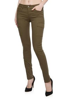 WAX Jeans Twill Cargo Skinny Pants - 3074071611001