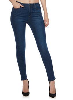WAX Classic Skinny Jeans - MEDIUM WASH - 3074071612300
