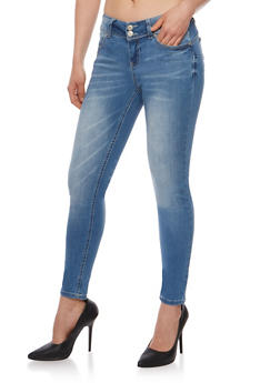 WAX Skinny Push Up Jeans - 3074071619008