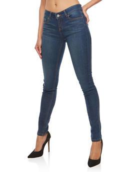 Wax Basic Skinny Jeans - 3074071619015