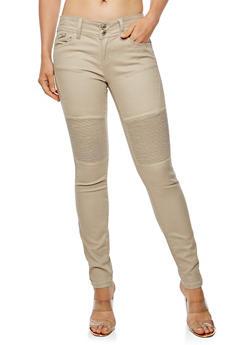 WAX Moto Skinny Jeans - 3074071619086