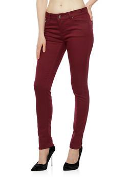 WAX Push Up Skinny Jeans - 3074071619311