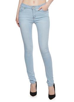 Wax Skinny Jeans - 3074071619320