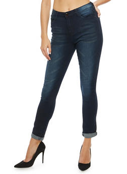 Faded Skinny Jeans - 3074072293352