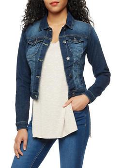 Long Sleeve Denim Jacket - 3075051061039
