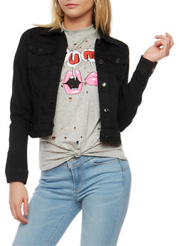 WAX Jean Jacket - BLACK - 3075071611009