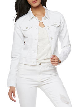 WAX Jean Jacket - WHITE - 3075071611009