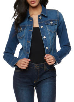 WAX Jean Jacket - MEDIUM WASH - 3075071611009