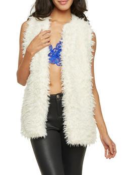 Vest in Faux Fur - 3084038347002