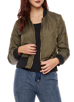 Padded Bomber Jacket - 3084051063001