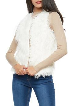 Faux Fur Vest - 3084051064800