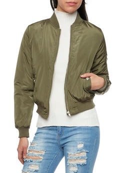 Padded Bomber Jacket - 3084054266872