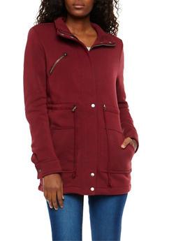 Fleece Anorak Jacket - 3086054267211