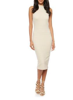 Bandage Midi Dress - 3094058753650