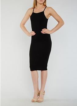 Bodycon Knit Tank Dress - 3094074013970