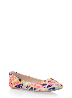 Flats with Round Toes - 3110004062968