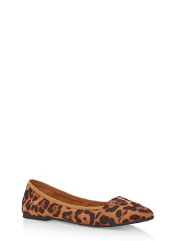 Pointed Band Skimmer Flats - LEOPARD F/S - 3110004064663