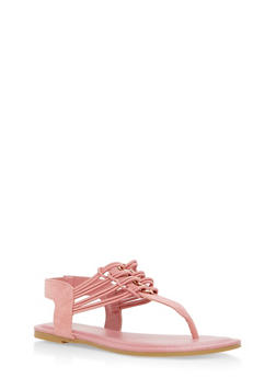 Stretch Loop Thong Sandals - 3112004067869