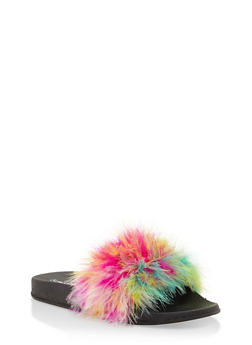 Feather Pool Slides - MULIT - 3112073113899