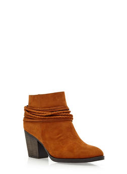 Ankle Boots with Fixed Straps - 3113004062836