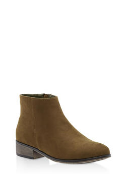 Pointed Toe Booties - 3116004067256