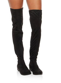 Flat Over the Knee Boots - BLACK F/S - 3116004067672