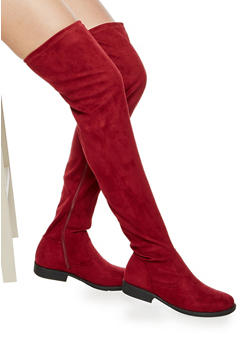 Flat Over the Knee Boots - 3116004067672