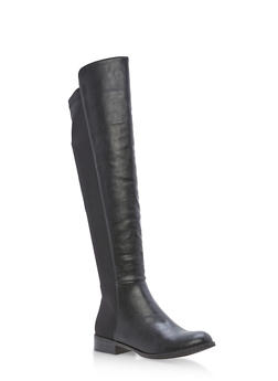 Stretch Back Tall Boots - 3116073541769