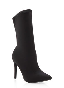 Stretch High Heel Bootie - 3118004063334
