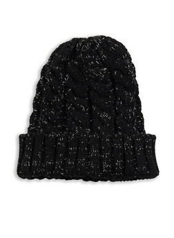 Heavy Knit Beanie - BLACK - 3119041657066