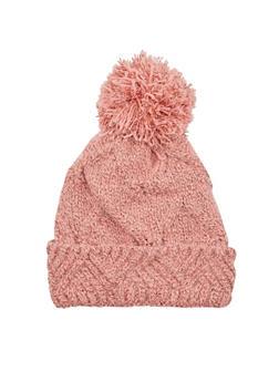 Beanie Hat with Pom Pom - 3119041658638