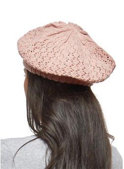 Shimmer Knit Beret - 3119041659184