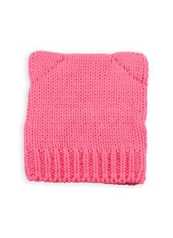 Cat Ear Knitted Beanie - 3119067444700