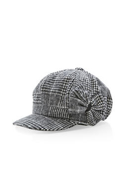 Bow Newsboy Cap - 3119067444718