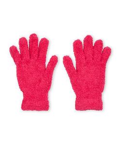 Plush Gloves - FUCHSIA - 3121067442600