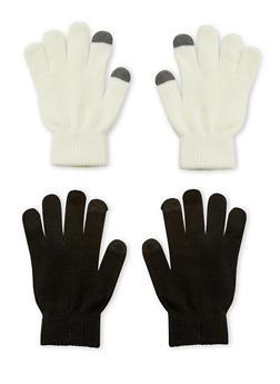 Set of 2 Gloves - IVORY - 3121067442701