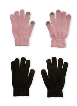 Set of 2 Gloves - MAUVE - 3121067442701