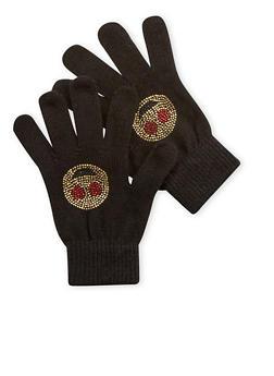 Heart Eyes Emoji Gloves - 3121067447722
